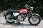 KAWASAKI - A1 SAMURAI - COMPLETE SET - TRANSFERS - 1970 - PEARL RED MODEL - D57043